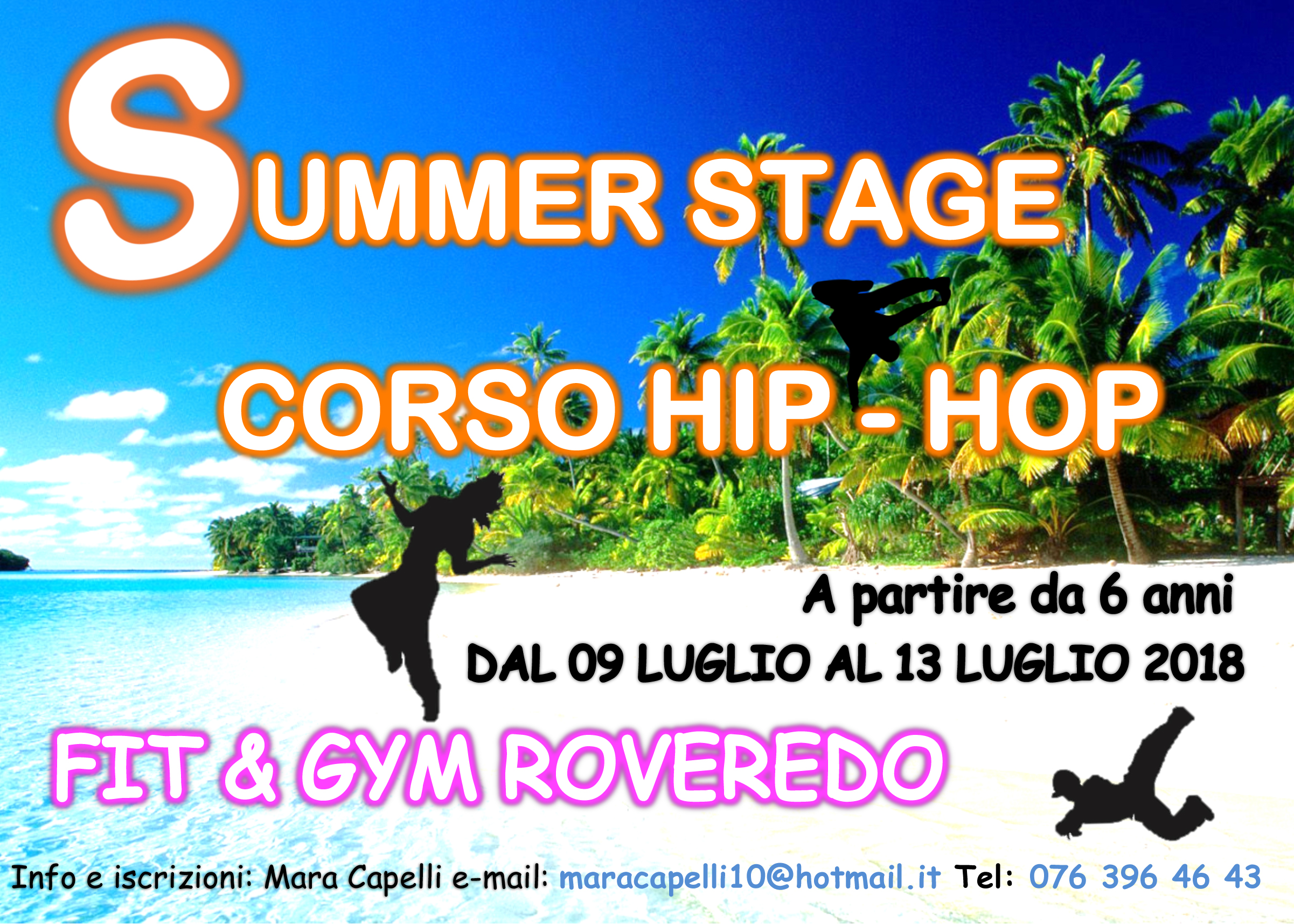 "Summer Stage ""Corso Hip-Hop"""