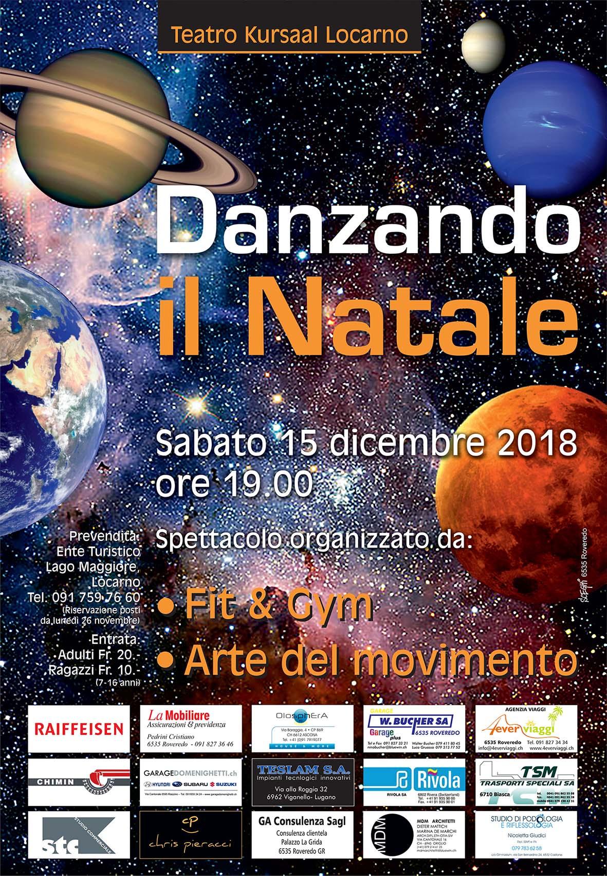 Locandina Danzando Il Natale 2018